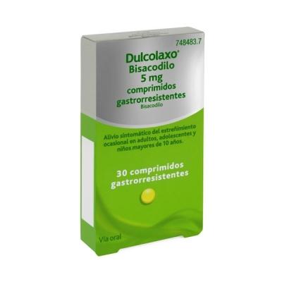 DULCOLAXO BISACODILO 5 MG...