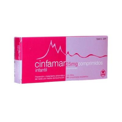 CINFAMAR INFANTIL 25 MG 10...