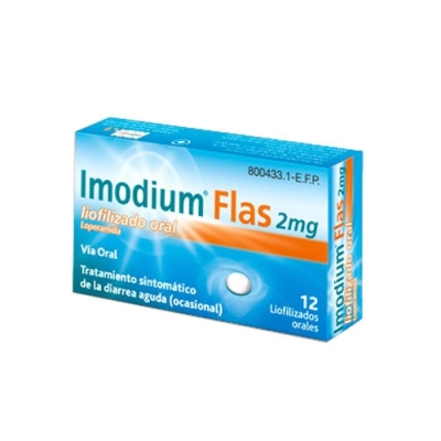 IMODIUM FLAS 2 MG 12...