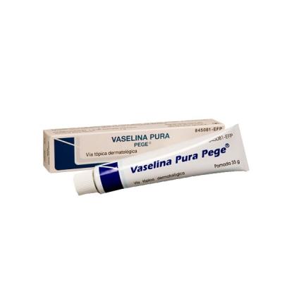VASELINA PURA PEGE POMADA 33 G