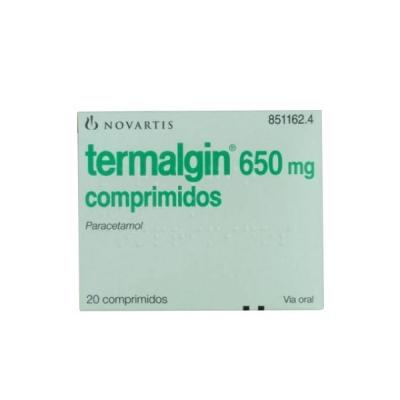 TERMALGIN 650 MG 20...