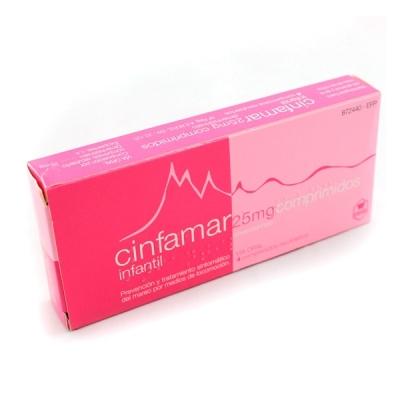 CINFAMAR INFANTIL 25 MG 4...