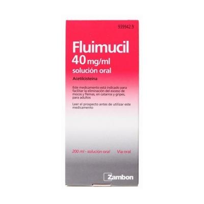 FLUIMUCIL 40 MG/ML SOLUCION...