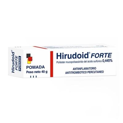 HIRUDOID FORTE 4.45 MG/G...
