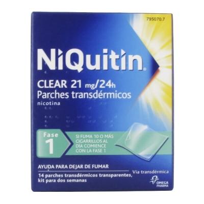 NIQUITIN CLEAR 21 MG/24 H...