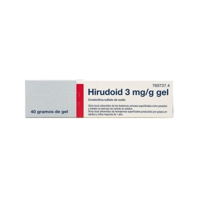 HIRUDOID 3 MG/G GEL TOPICO...
