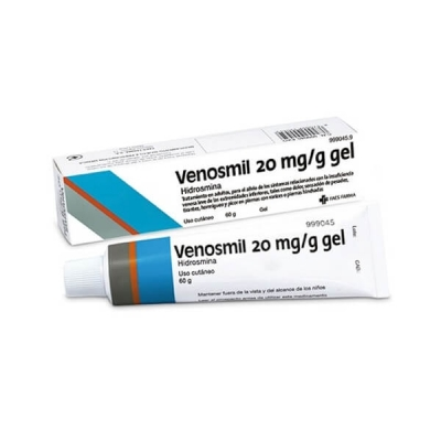 VENOSMIL 20MG/G GEL, 1 TUBO...