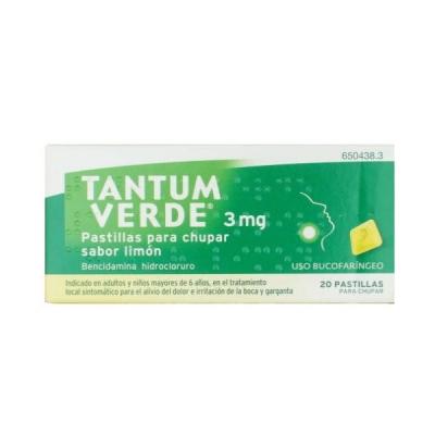 TANTUM VERDE 3 MG 20...