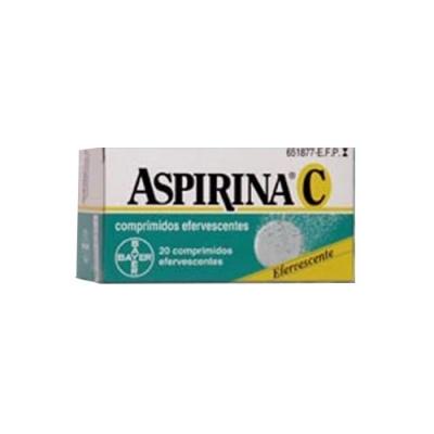ASPIRINA C 400/240 MG 20...