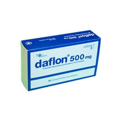 DAFLON 500 MG - (60COMP)