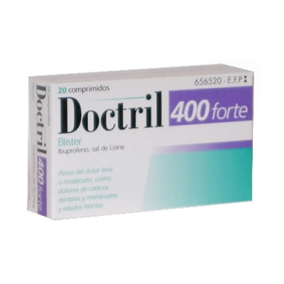 DOCTRIL FORTE 400 MG 20...