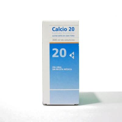 CALCIO 20 EMULSIÓN - (300ML)